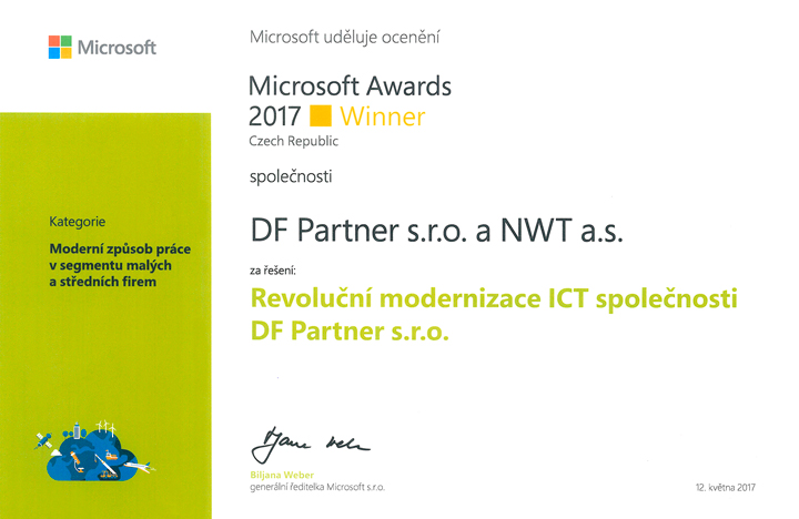 Microsoft Awards 2017