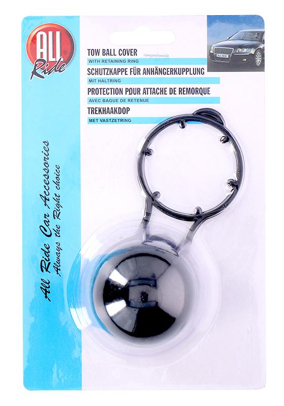 ALLRIDE kryt tažné koule černý s kroužkem - Doplňky pro domácnost a auto